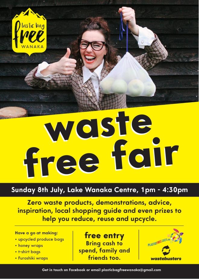 Waste Free Fair 2018 poster A4