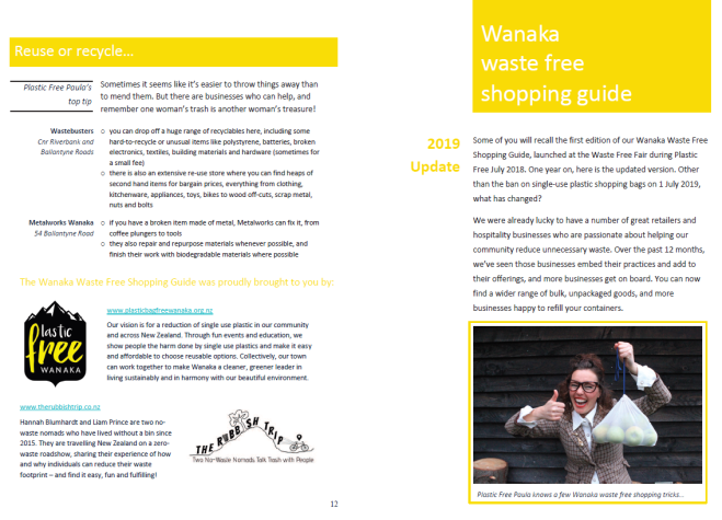 waste free shopping guide cover image